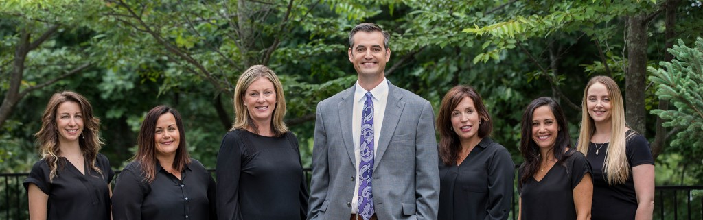 The dental team at Dr. Ryan Clancy's Boston dental office
