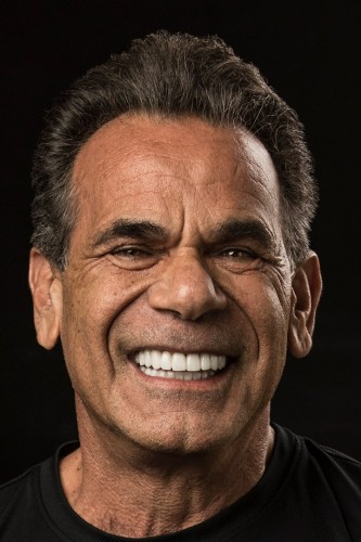 Tony after full mouth reconstruction.